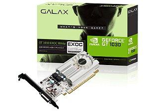 Placa de Vídeo Geforce GT 1030 EX OC 2GB DDR5 64 BIT GALAX 30NPH4HVQ5EW