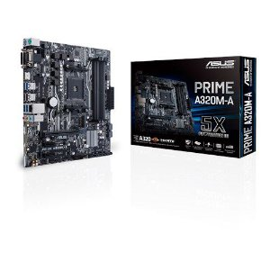 Placa Mãe ASUS PRIME CHIPSET AMD A320M-A Socket AM4