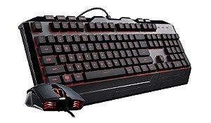 Kit Teclado e Mouse Gamer Com FIO Cooler Master Devastator 3 RGB - SGB-3000-KKMF1-BR