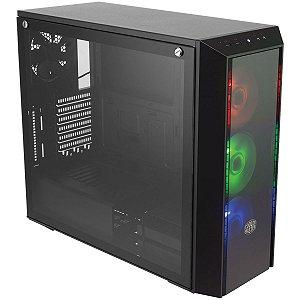 GABINETE MID TOWER MASTERBOX 5 PRO RGB E-ATX ATX MICRO-ATX MINI-ITX LAT VIDRO TEMPERADO MCY-B5P2-KWGN-0