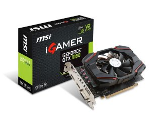 Placa de Vídeo Geforce GTX 1060 IGAMER 6GB - GDDR5 - 192 Bits MSI 912-V809-2463