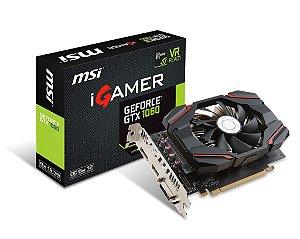 Placa de Vídeo Geforce GTX 1060 IGAMER 6GB - GDDR5 - 192 Bits MSI 912-V809-2463