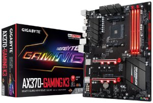 Placa Mãe GIGABYTE CHIPSET AMD AX370-GAMING K3 Socket AM4