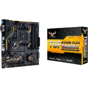 Placa Mãe ASUS TUF CHIPSET AMD B350M-PLUS GAMING Socket AM4