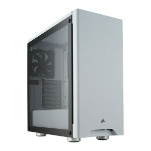 Gabinete ATX Gamer C/ Lateral em Vidro Temperado e USB 3.0 Frontal - Corsair Carbide 275R White CC-9011133-WW