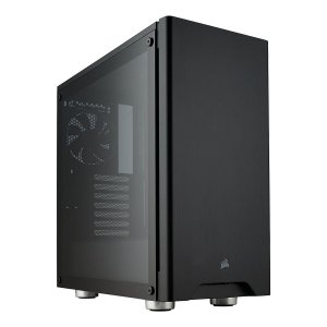 Gabinete ATX Gamer C/ Lateral em Vidro Temperado e USB 3.0 Frontal - Corsair Carbide 275R Black CC-9011132-WW