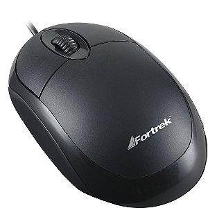 Mouse Padrão Com Fio USB FORTREK OML-101