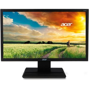 Monitor LED 21.5 Polegadas Widescreen C/ VGA/DVI/HDMI FULL HD ACER V226HQL