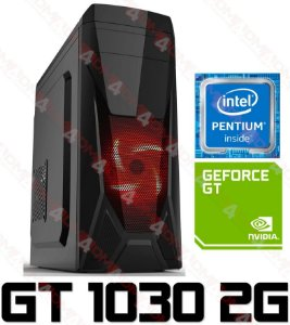 PC Gamer Intel Pentium Kaby Lake G4560, 8GB DDR4, HD 1 Tera, GPU GEFORCE GT 1030 2GB