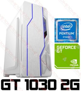 PC Gamer Intel Pentium Kaby Lake G4560, 8GB DDR4, HD 500GB, GPU Geforce GT 1030 2GB