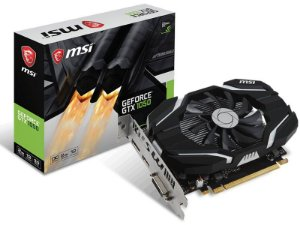 Placa de Vídeo GPU Geforce GTX 1050 OC 2GB DDR5 128 BITS MSI 912-V809-2287