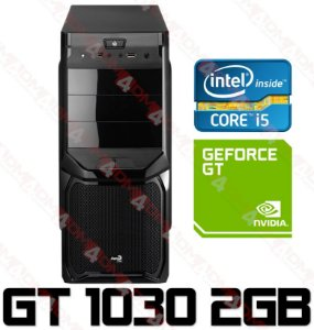 PC Gamer Intel Core I5 Ivy Bridge 3470, 16GB DDR3, SSD 120GB, HD 500GB, GPU Geforce GT 1030 2GB