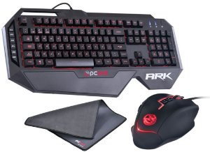 KIT Teclado, Mouse e Mousepad Gamer PCYES