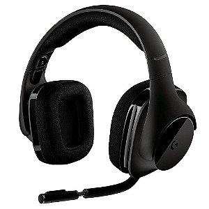 (Liquidação) Headset Gamer Logitech G533 Sem Fio 7.1 Surround Drivers Pro-G