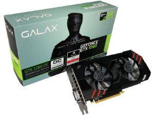 Placa de Vídeo GPU Geforce GTX 1060 OC 6Gb GDDR5 - 192 Bits GALAX 60NRH7DSR4BY