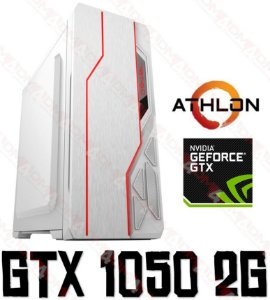 (Recomendado) PC GAMER AMD ATHLON 200GE, 8GB DDR4, HD 1TB, GPU Geforce GTX 1050 2GB