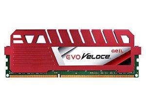 Memória P/ Desktop 8GB DDR3 CL11 1600 MHZ GEIL EVO VELOCE - GEV38GB1600C11SC