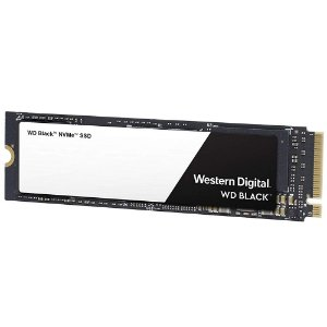 SSD WD Black M.2 2280 500GB NVMe Leituras: 3400MB/s e Gravações: 2500/s - WDS500G2X0C