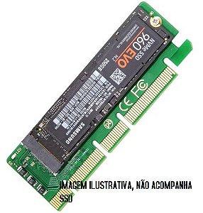 ADAPTADOR PARA SSD M.2 SATA E NVME PCI EXPRESS 3.0 VERTICAL