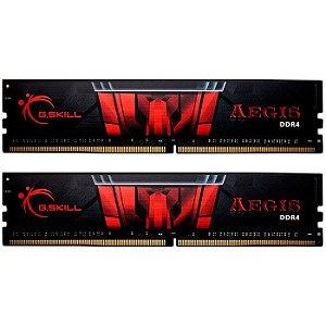Memória 16GB DDR4 CL16 - 3000 MHZ G.SKILL AEGIS (2X8GB) F4-3000C16D-16GISB
