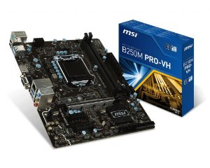 Placa Mãe MSI CHIPSET INTEL B250M PRO-VH SOCKET LGA 1151