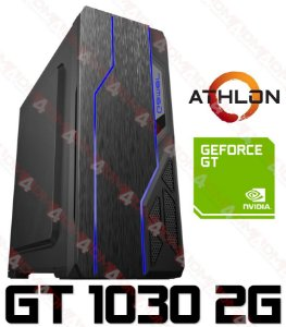 (OFERTA DE JANEIRO) PC Gamer AMD Athlon 200GE, 8GB DDR4, HD 500GB, GPU GEFORCE GT 1030 2GB
