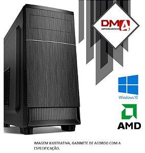 (Recomendado) Computador Home Pro AMD Ryzen 3 2200G, 8GB DDR4, SSD 120GB, HD 500GB, Wi-FI 300 Mbps