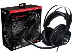 Headset Gamer HyperX Cloud Revolver S 7.1 Dolby Digital - HX-HSCRS-GM/LA