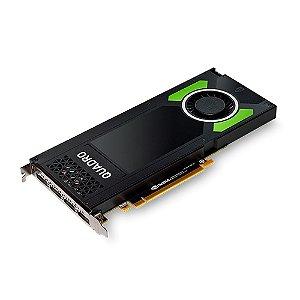 Placa de Vídeo Profissional NVIDIA QUADRO P4000 - 8GB GDDR5 - 256 Bits PNY VCQP4000-PORPB
