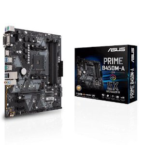 Placa Mãe ASUS PRIME CHIPSET AMD B450M-A SOCKET AM4