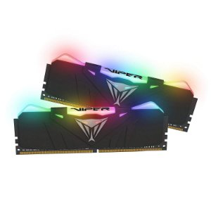 Memória 16GB DDR4 CL19 4133 Mhz PATRIOT VIPER GAMING RGB - PVR416G413C9K (2X8GB)