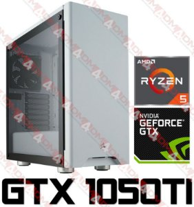 (Mega Recomendado) PC Gamer AMD Ryzen 5 2600, 16GB DDR4, SSD 240GB, HD 1TB, GPU GEFORCE GTX 1050TI OC 4GB