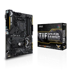 Placa Mãe ASUS TUF CHIPSET AMD X470-GAMING SOCKET AM4