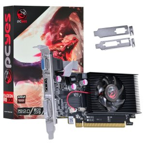 Placa de Vídeo AMD Radeon R5 230 2GB DDR3 64 Bits PCYES PW230R56402D3
