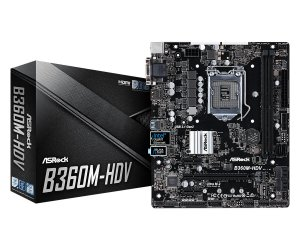 Placa Mãe ASrock CHIPSET INTEL B360M-HDV SOCKET LGA 1151