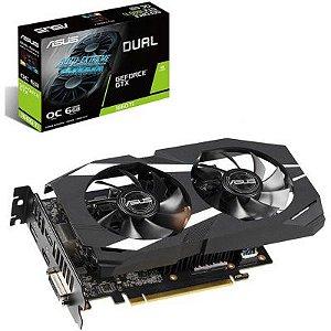 Placa de Vídeo GPU GEFORCE GTX 1660TI OC 6GB GDDR6 192 Bits ASUS DUAL-GTX1660TI-O6G