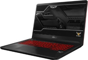 Notebook Gamer ASUS TUF Intel Core I7 8750H 2.2GHz, 16GB DDR4, SSD M.2 512GB, GPU Geforce GTX 1060 3GB, Tela LED 144Hz 17.3 Polegadas