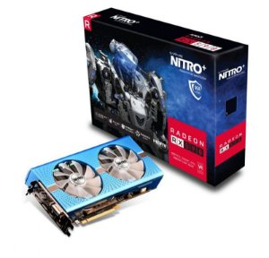 Placa de Vídeo GPU AMD Radeon RX 590 NITRO+ SPECIAL EDITION 8GB GDDR5 - 256 Bits SAPPHIRE - 11289-01-20G