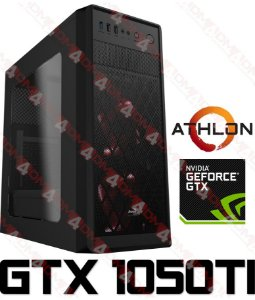 (SUPER RECOMENDADO) PC Gamer AMD Athlon 240GE, 8GB DDR4, HD 500GB, GPU GEFORCE GTX 1050TI OC 4GB