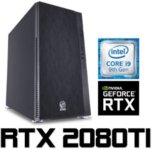 Computador Gamer PRO Intel Core I9 Kaby Lake 7900X, 128GB DDR4, SSD M.2 500GB, HD 8TB, GPU GEFORCE RTX 2080TI OC 11GB