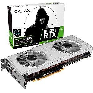 Placa de Vídeo GPU Geforce RTX 2080TI EX 1CLICK OC 11GB GDDR6 352 Bits GALAX WHITE- 28IULBUCT4KW