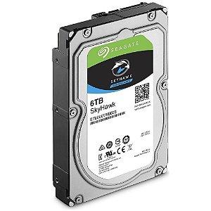 HD Seagate SATA 3,5´ Surveillance SkyHawk 6TB 7200RPM 256MB Cache SATA 6.0Gb/s - ST6000VX0023