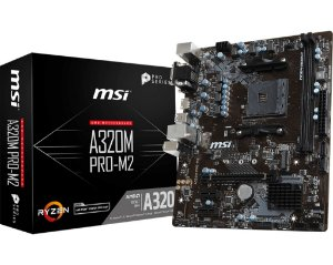 Placa Mãe CHIPSET AMD A320M PRO M.2 SOCKET AM4