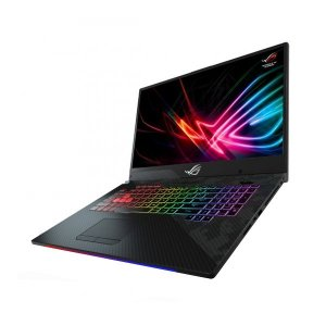 "Notebook ASUS ROG Strix SCAR II, 17 ""144Hz IPS tipo Full HD, NVIDIA GeForce RTX 2060 6 GB, Intel Core i7-8750H, 16GB de RAM DDR4, SSD 512GB PCIe, RGB KB, Windows 10, GL704GV-DS74"