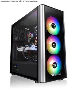 (OFERTA BLACK FRIDAY) Gabinete ATX Gamer Thermaltake LEVEL 20MT ARGB, Lateral em Vidro Temperado e USB 3.0 Frontal - CA-1M7-00M1WN-00