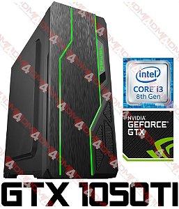 PC Gamer Intel Core I3 Coffee Lake 8100, 8GB DDR4, SSHD 1 Tera, GPU GEFORCE GTX 1050TI OC 4GB