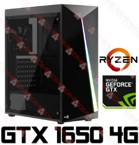 (Lançamento) PC Gamer AMD Ryzen 5 2600, 8GB DDR4, SSD 240GB, GPU GEFORCE GTX 1650 OC 4GB