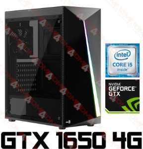 (Lançamento) PC Gamer Intel Core I5 Coffee Lake 9400F, 8GB DDR4, SSD 240GB, GPU GEFORCE GTX 1650 OC 4GB