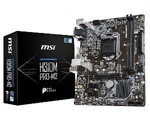 Placa Mãe Chipset Intel H310M PRO-M2 SOCKET LGA 1151