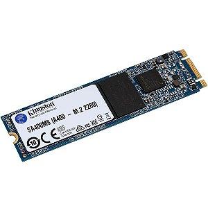 SSD Kingston A400, 120GB, M.2, Leitura 500MB/s, Gravação 320MB/s - SA400M8/120G